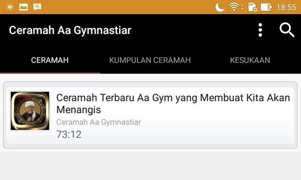Ceramah Aa Gymnastiar screenshot 3