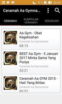 Ceramah Aa Gymnastiar screenshot 4
