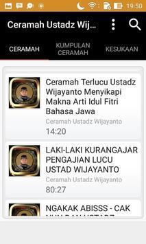 Ceramah Ustad Wijayanto apk screenshot