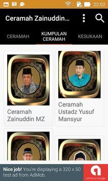 Ceramah Ustad Zainuddin MZ apk screenshot
