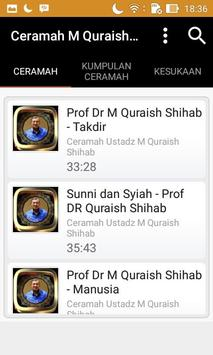 Ceramah M Quraish Shihab screenshot 4