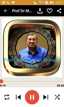 Ceramah M Quraish Shihab screenshot 1
