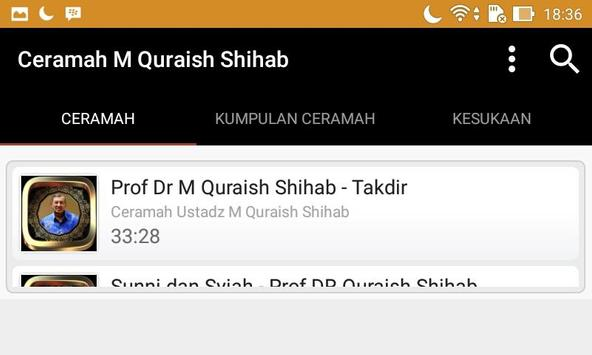 Ceramah M Quraish Shihab screenshot 3