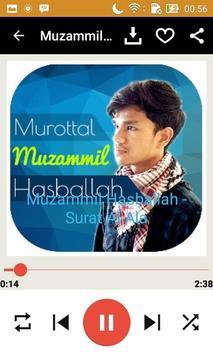 Muzammil Hasballah Murottal apk screenshot