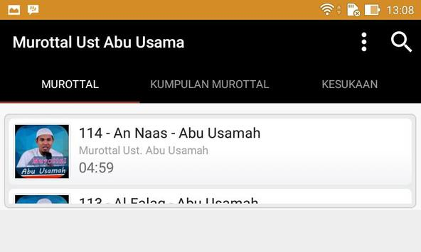 Murottal Ust. Abu Usama screenshot 3