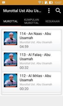 Murottal Ust. Abu Usama screenshot 4