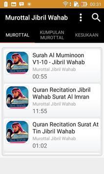 Murottal Jibril Wahab poster