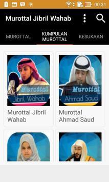 Murottal Jibril Wahab apk screenshot