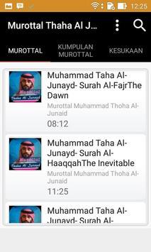 Murottal Thaha Al Junayd poster