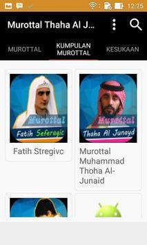 Murottal Thaha Al Junayd apk screenshot