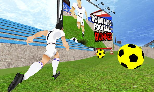 Romualdo Football Runner apk screenshot