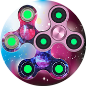Rainbow Spinner Fidget icon