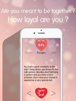 Love Test Compatibility 2017 ❤️ apk screenshot