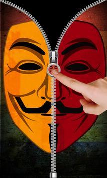 Anonymous Zip Screen Lock screenshot 4