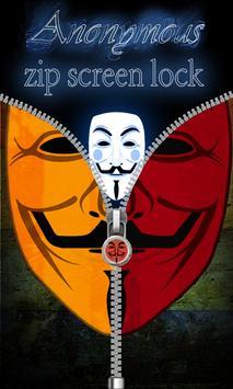 Anonymous Zip Screen Lock screenshot 5