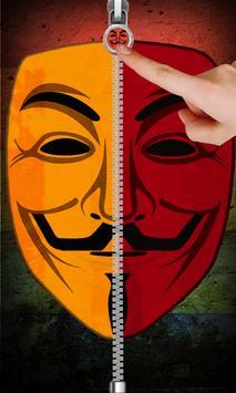Anonymous Zip Screen Lock screenshot 15