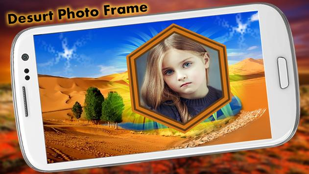 Desert Photo Frame apk screenshot