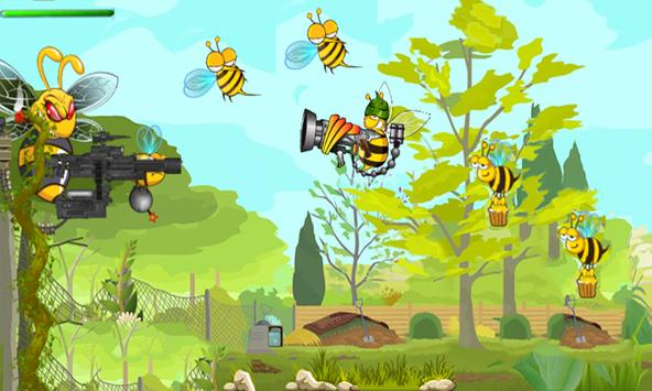 Bee Combat Shooter 3D apk screenshot