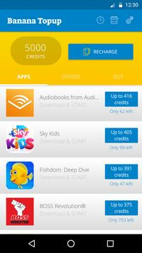 Banana TopUp apk screenshot