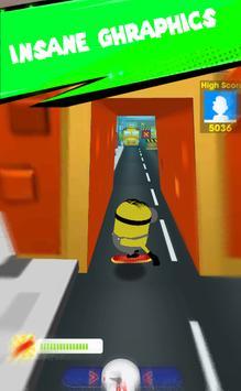 Subway Banana Rush Minoin screenshot 1