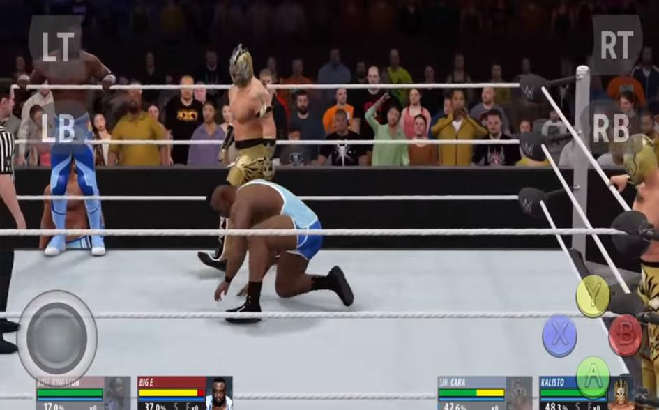 download wwe 2k18for android apk+data