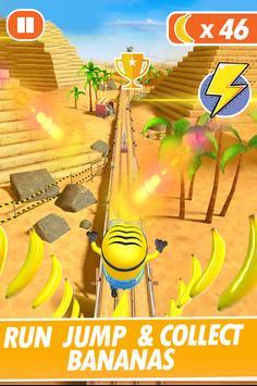 Banana Minion Adventure Rush : Legends Rush 3D poster