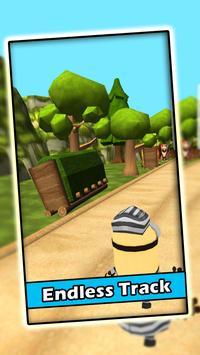 Banana Minion Subway Rush screenshot 1