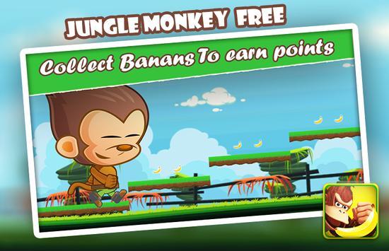 Jungle Run Monkey apk screenshot