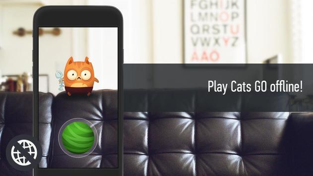 Cats GO: Offline apk screenshot