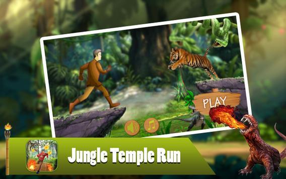 Jungle Temple Run poster
