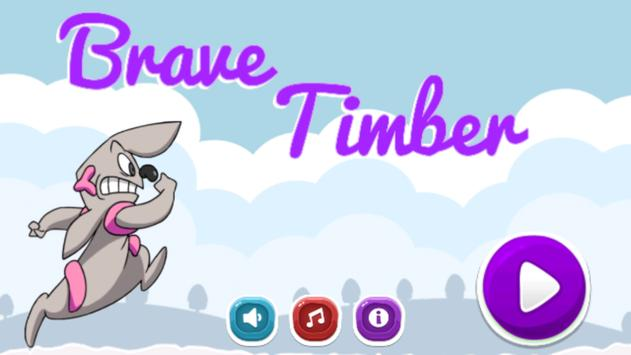Brave Timber poster