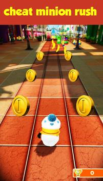 Cheat Minion Rush Game apk screenshot