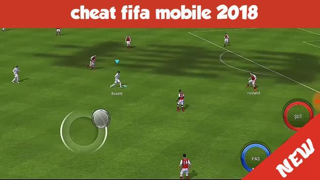 Cheat FIFA Mobile Soccer 2018 apk screenshot