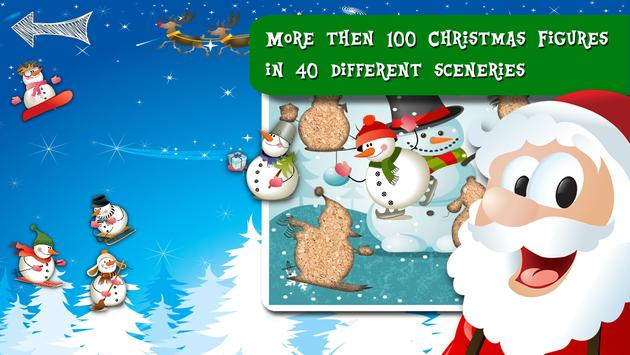 Free Xmas Jigsaw Puzzle Game apk screenshot