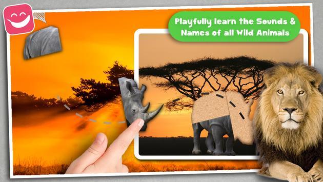 Kids Jigsaw Puzzle Wildlife screenshot 11