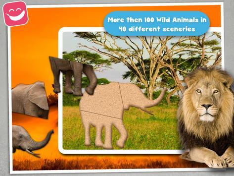 Kids Jigsaw Puzzle Wildlife screenshot 9