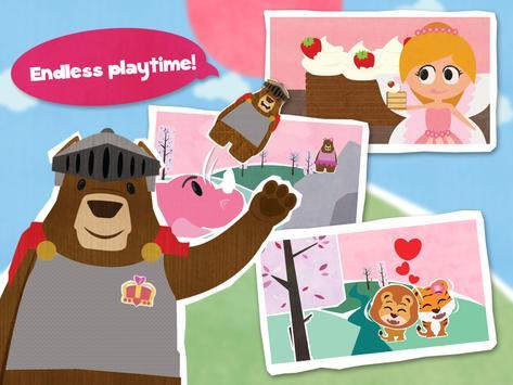 Mr. Bear Princess Free apk screenshot