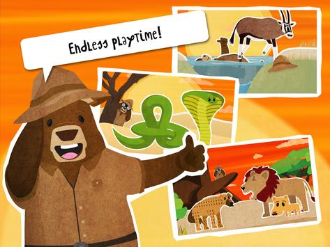 Simple Animal Puzzle Kids Game apk screenshot