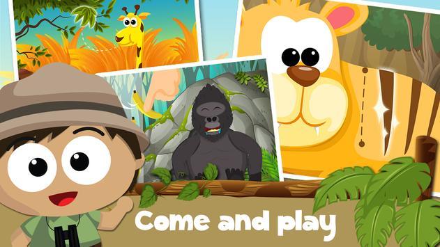 Wildlife Savanna Cartoon Games poster