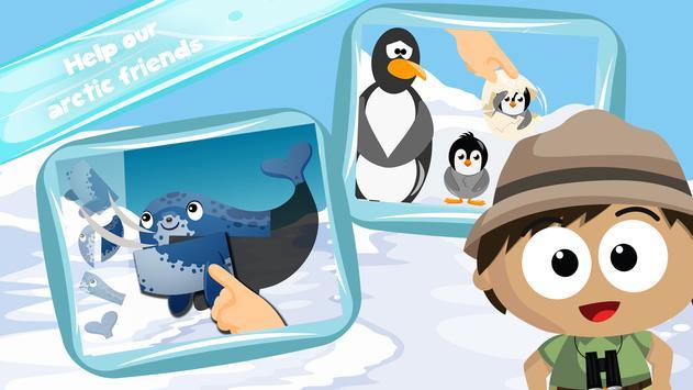 Wildlife Savanna Cartoon Games screenshot 11