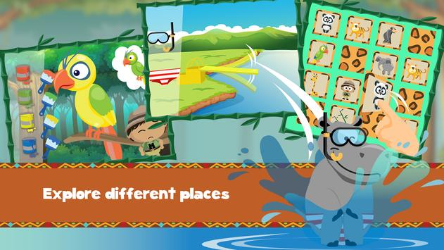 Wildlife Savanna Cartoon Games screenshot 3