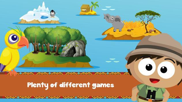Wildlife Savanna Cartoon Games screenshot 4