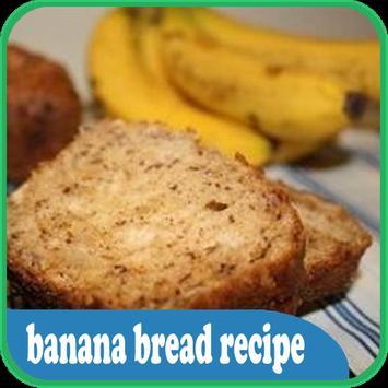 banana bread recipe poster