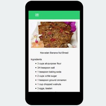 banana bread recipe screenshot 3
