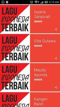 Lagu Indonesia Terbaik poster
