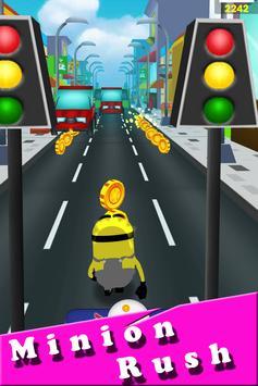 Banana minions subway rush 3D screenshot 4