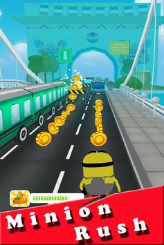 Banana minions subway rush 3D screenshot 2