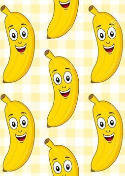 Banana Wallpaper poster