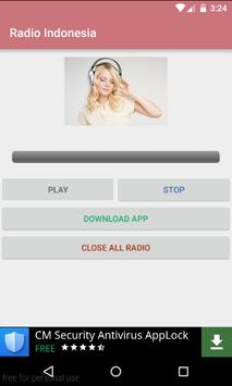 Indonesian online radio screenshot 5