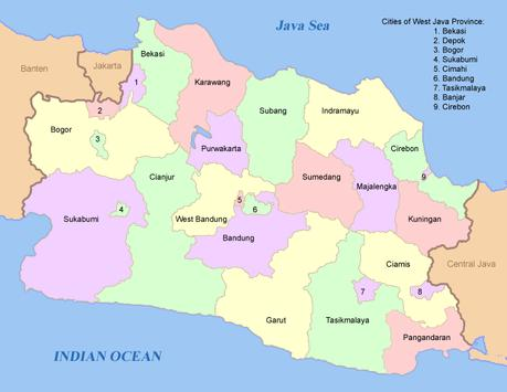 Map of west java apk download free travel local app for map of west java poster publicscrutiny Images